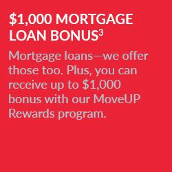 $1,000 Mortgage Bonus