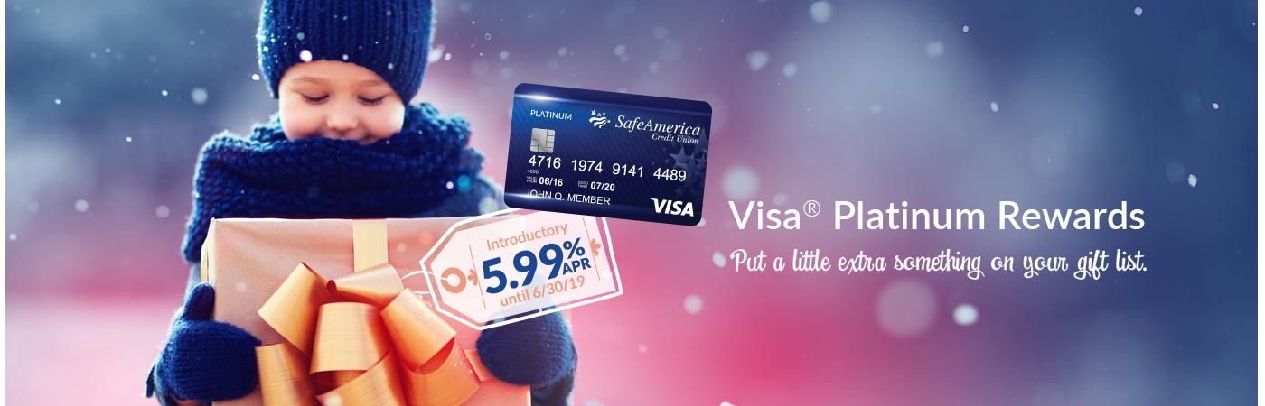 Visa 5.99% APR