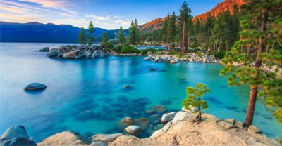 Photo of Lake Tahoe, California