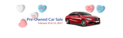 Pre-Owned Car Sale