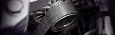 Timing-belt of alternator.